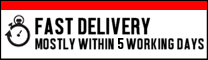 Fast delivery mostly within 3 working days