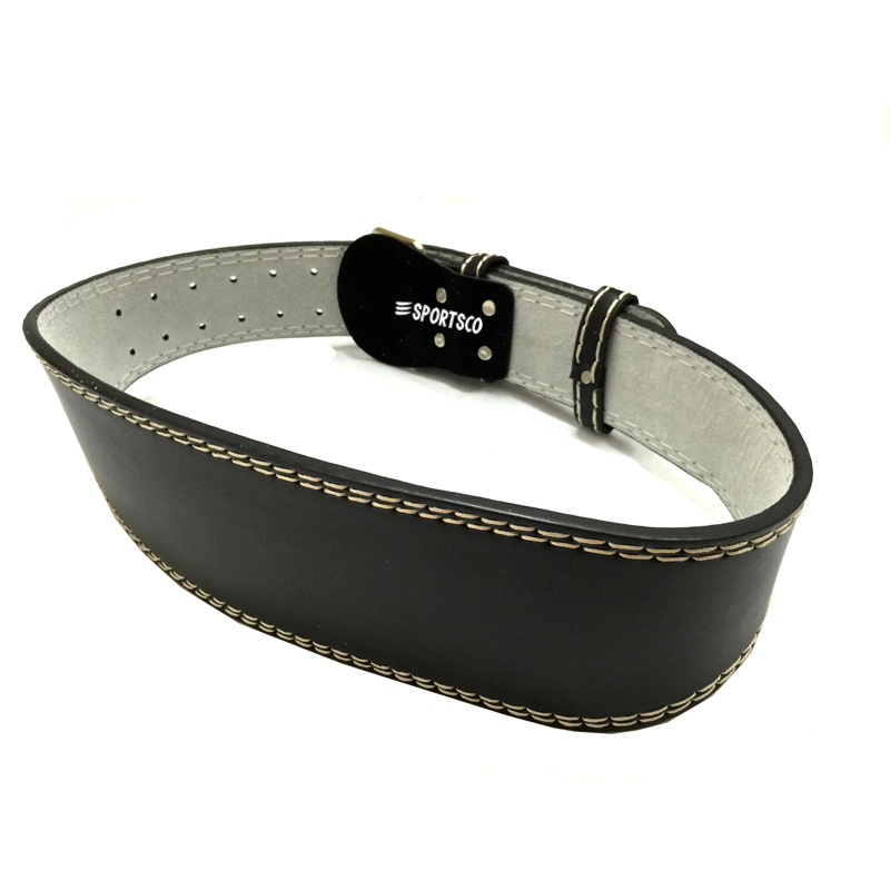 Premium Leather Weight Lifting Belt
