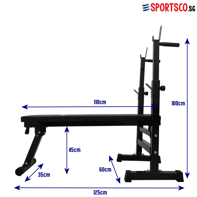Flat Weight Lifting Bench Measurement