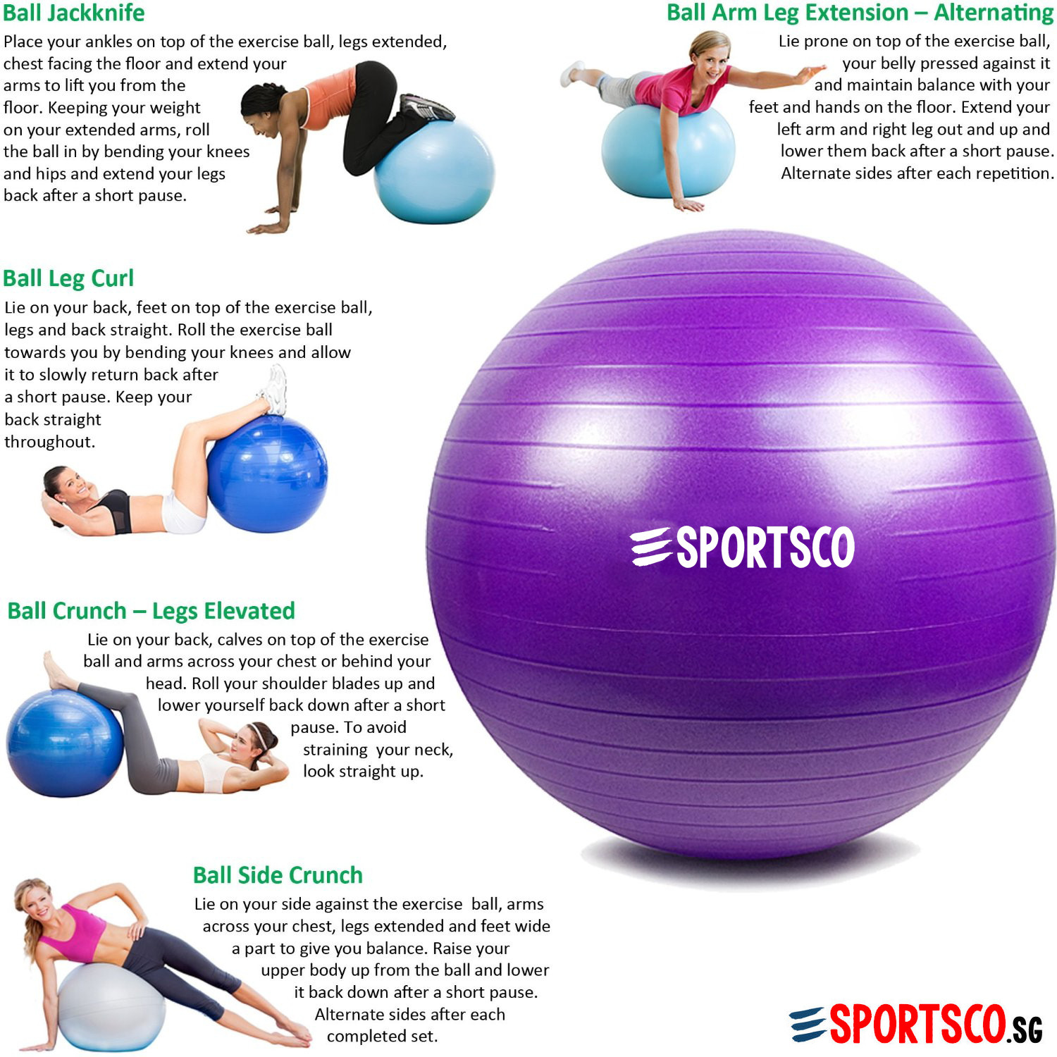 Yoga Gym Ball Exercise