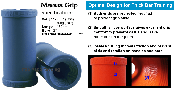 Manus Grip Specification and Design