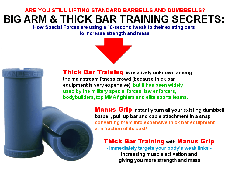 Thick bar training fact
