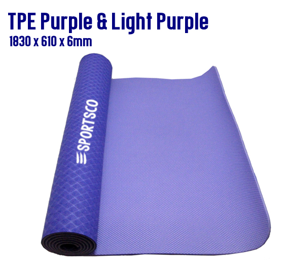 TPE Purple and Light Purple