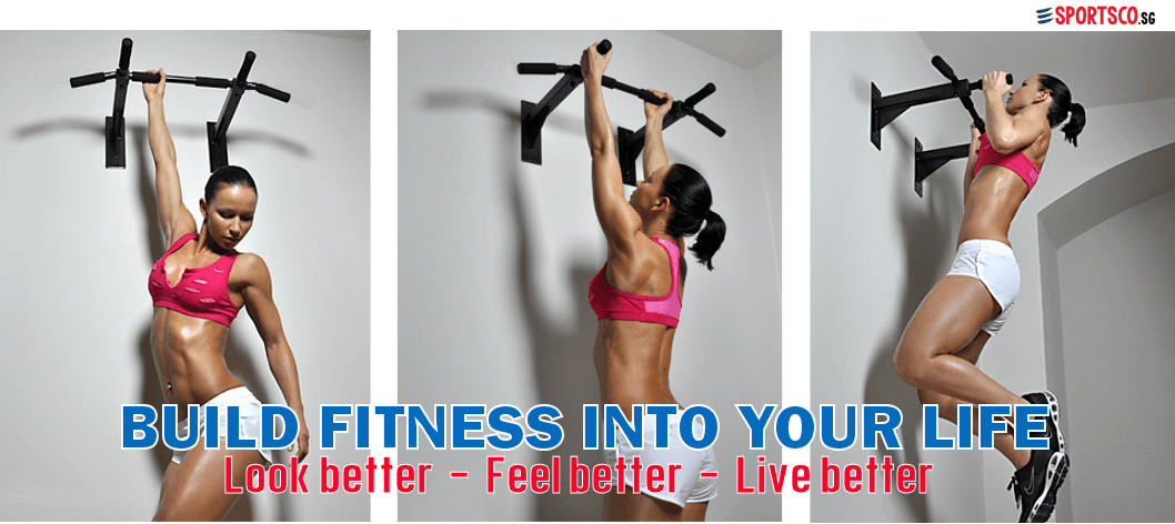 SPORTSCO Singapore - Build Fitness Into Your Life