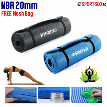 20mm Thick NBR Yoga Exercise Mat