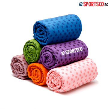 Microfiber Yoga Mat Towel with Anti Slip Dots