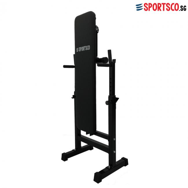 Flat Weight Lifting Bench Foldable Singapore Sportsco
