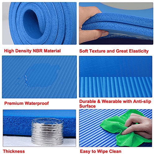 Nbr Exercise Yoga Mat Singapore Sportsco