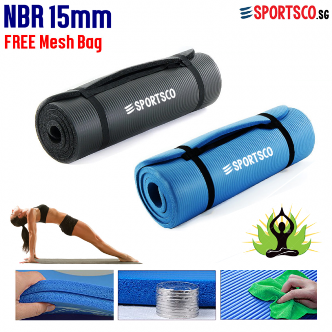 NBR Exercise Yoga Mat Singapore