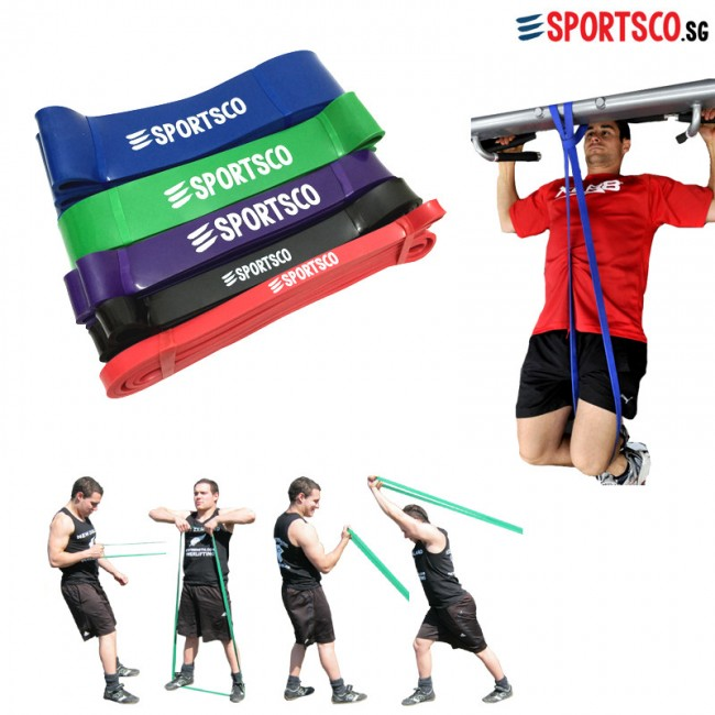 Pull Up Assist Bands Resistance Loop Bands Singapore