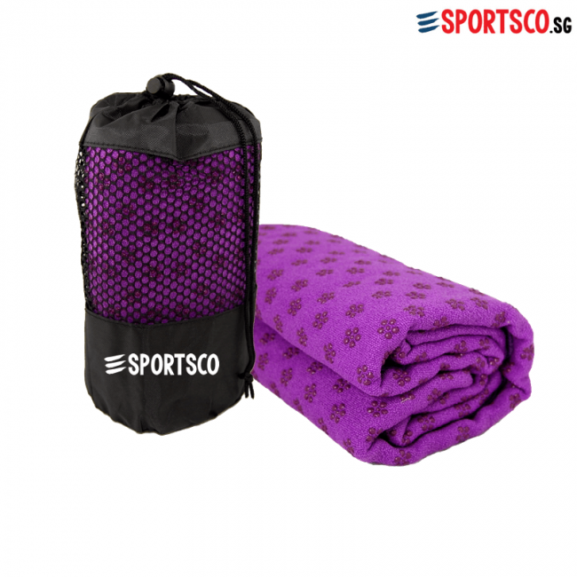 Yoga Mat Towel With Anti Slip Dots Singapore