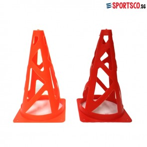 Agility Collapsible Sports Cones 9""