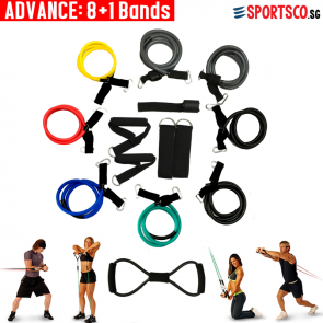 Ultimate Resistance Bands (Advance Set)