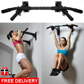 SPORTSCO Original Wall Mounted Chin Up Bar